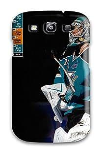 Cute Appearance Cover/tpu MLKFKEY8899fkfuA San Jose Sharks Hockey Nhl (33) Case For Galaxy S3