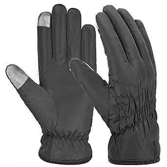 Vbiger Women Warm Gloves Waterproof Winter Gloves Touch