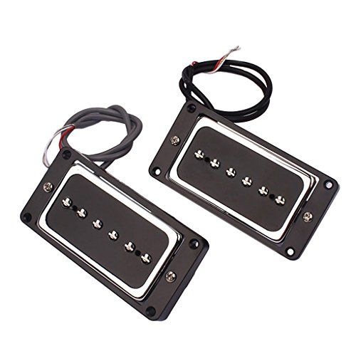 Electric Guitar Replacement Soap Bar P90 Alnico 5 Pickups Bridge Neck Sets