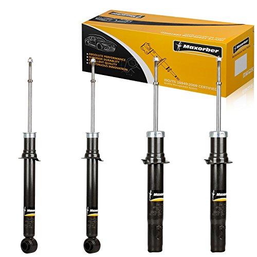 Maxorber Full Set Shocks Struts Absorber Kit Compatible with 1995 1996 1997 1998 Eagle Talon FWD 1995 1996 1997 1998 1999 Mitsubishi Eclipse FWD ()
