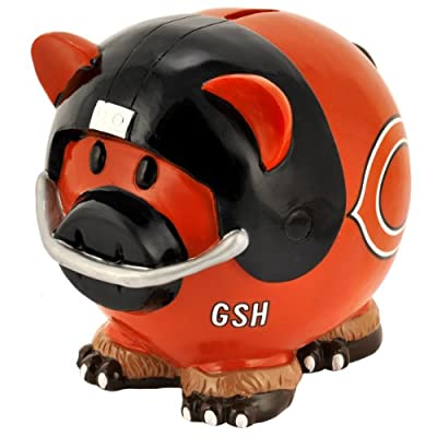 NFL unisex-adult Resin Large Thematic Piggy Bank