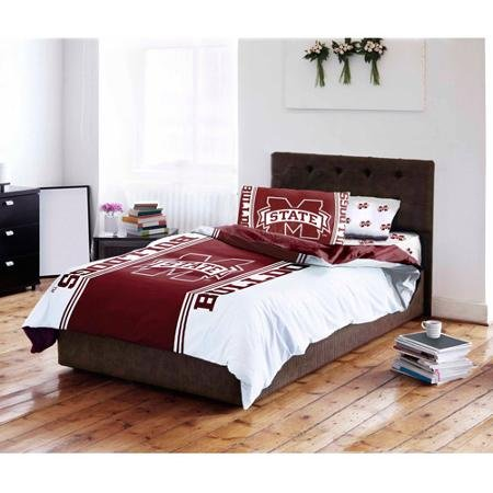 - Northwest NCAA Mississippi State Twin/Full Comforter and Twin Sheet Set