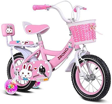 Bicicleta infantil niña bicicleta 3-4-5-6-7-8-10 años Princesa ...