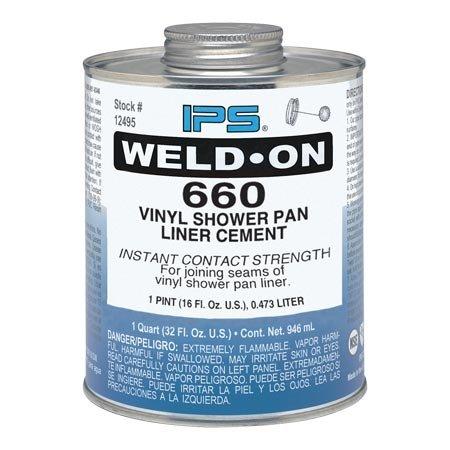 IPS 10835 Weld-On Vinyl Shower Pan Liner Cement
