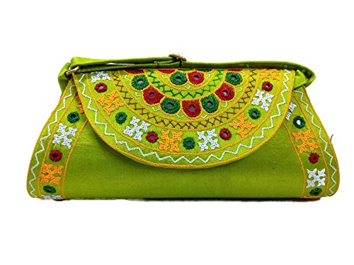 Pochette vert pour Trend femme perroquet ZdqPPw