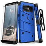 cheap for discount 04b94 cb932 Zizo Bolt Series Compatible with Samsung Galaxy Note 8 Case Military Grade  Drop Tested with Tempered Glass Screen Protector H