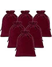 Lucky Monet 25/50/100PCS Velvet Drawstring Bags Jewelry Pouches for Christmas Birthday Party Wedding Favors Gift Candy Headphones Art and DIY Craft