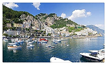 Italia Montañas Costa casas Motor Amalfi ciudades muebles ...