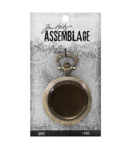Tim Holtz Assemblage Locket -pocket Watch