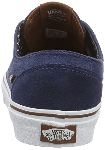 Baskets Blue Insignia Brigata Vans Adulte Basses Mixte plus Blue suede 5fXwq0