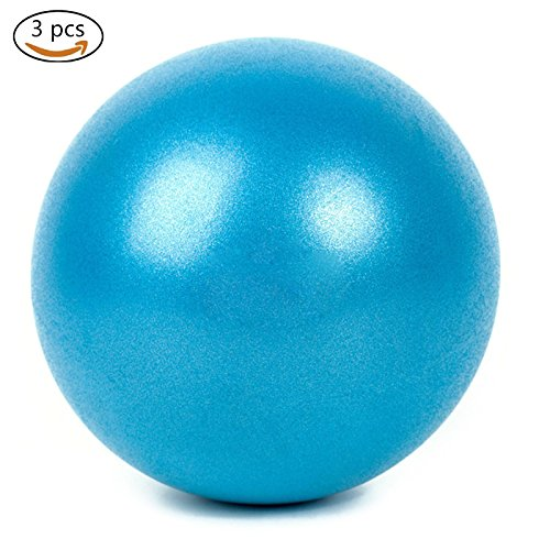 Xueliee Boule d'exercice (25cm), Extra épais antidérapant anti-éclatement Swiss Ball (Office Home Gym)