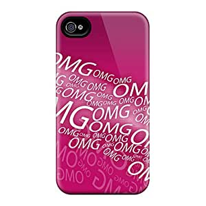 Saraumes Perfect Tpu Case For Iphone 4/4s/ Anti-scratch Protector Case (omg)