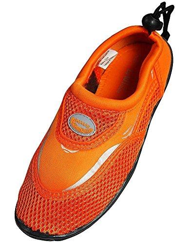 The Wave - Ladies Aqua Shoe, Orange 37110-7B(M)US