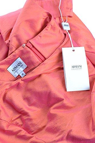 Damen Rot Collezioni Armani Kleid Seide MCBI024133O Pq1ngOWB1