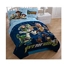 Disney's Toy Story - Don't Toy With Us Twin Sheet Set