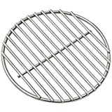"""BBQ High Heat Stainless Steel Charcoal Fire Grate Fits for Kamado Joe Classic Fire Grate and Kamado Joe Grill Parts Charcoal Grate Replacement Accessories (10 1/4"""")"""