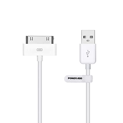 464920f395d Poweradd - Cable de Datos 30-pin USB Carga, Cargador Apple MFi Certificado  para