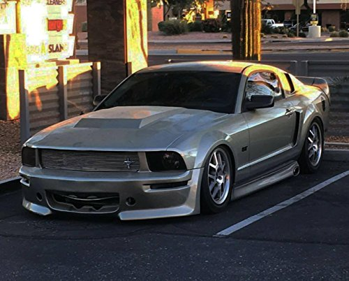 - KBD Body Kits Compatible with Ford Mustang 2005-2009 Eleanor Style 4 Piece Flexfit Polyurethane Full Body Kit. Extremely Durable, Easy Installation, Guaranteed Fitment, Made in the USA!
