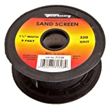 Forney 71728 Sand Screen, 320-Grit, 1-1/2-Inch by 9-Feet Roll