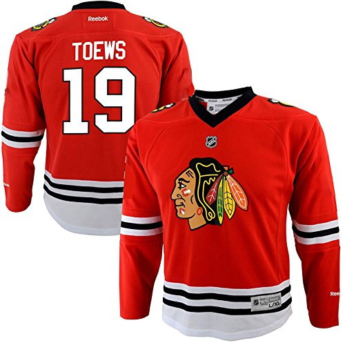 Jonathan Toews Chicago Blackhawks #19 Red Youth Rookie Year Home Replica Jersey (Large/X-Large 14/20)