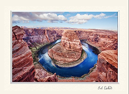 11 X 14 Including Colorado River Photograph Of Of Horseshoe Bend In The Town Of Page  Arizona