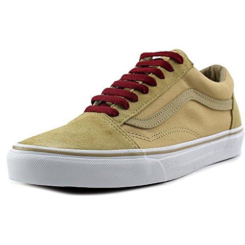 Vans Sk8-Hi - Zapatillas de skateboarding de ante para hombre Khaki Rhubarb
