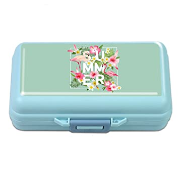 Small Weekly Pill Case - Cheliz Cute Travel Vitamin Deep Oil Meds Daily  Pill Organizer Box 6313b81b7d
