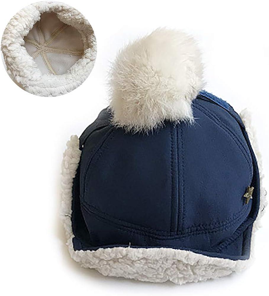 Hilai el sombrero del invierno del bebé 1PC con el oído cubre el ...