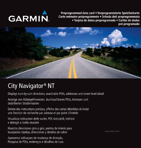 Garmin City Navigator Europe NT (Best Planned Cities In America)