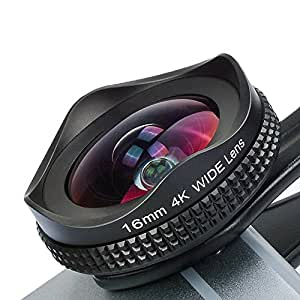 APEXEL Professional 16mm Wide Angle Camera Lens with CPL Filter Lens for iPhone X/Xs Max/XR/8 7/6s 8Plus/7s Plus Samsung Galaxy S10/S9 Most Andriod Smartphones