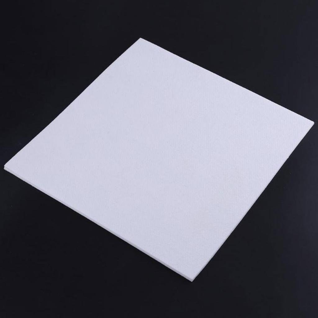 MagiDeal 300x300x3mm Thickness 3D Printer Heating Bed Block Insulation Cotton-White