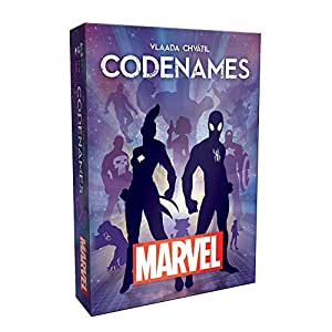 USAopoly Codenames Marvel Strategy Game