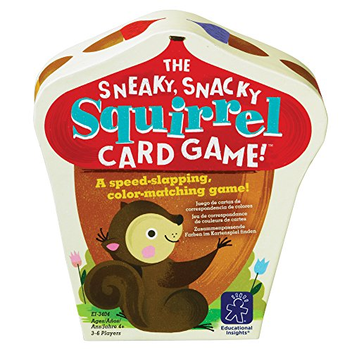 Educational Insights The Sneaky, Snacky Squirrel Card Game ()