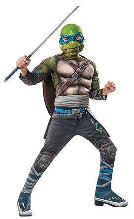 Amazon.com: Boys Teenage Mutant Ninja Turtles 2 Leonardo ...