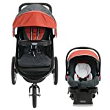 FastAction Fold Jogger Jogging Baby Stroller with Infant Car Seat - Rixen