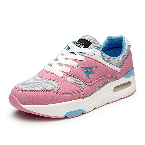 Zapatos de otoño/Deportes y ocio calzan a las mujeres/Zapatos de malla de aire/Marea respirable Coreano zapatos de las mujeres A