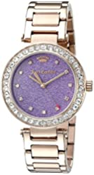 Juicy Couture Women's 1901329 Analog Display Quartz Rose Gold Watch