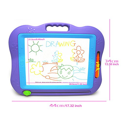 ledniceker-magnetic-drawing-board-magna-doodle-colorful-erasable-screen-for-baby-kids-toddlers-skill