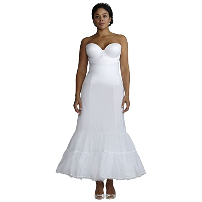 Plus Size Full Fit and Flare Bridal Slip Style 9550W