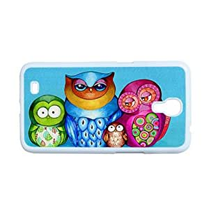 For Women Phone Cases Plastic Personalised For Galaxy Mega 6.3 Design With Cute Funny Owl