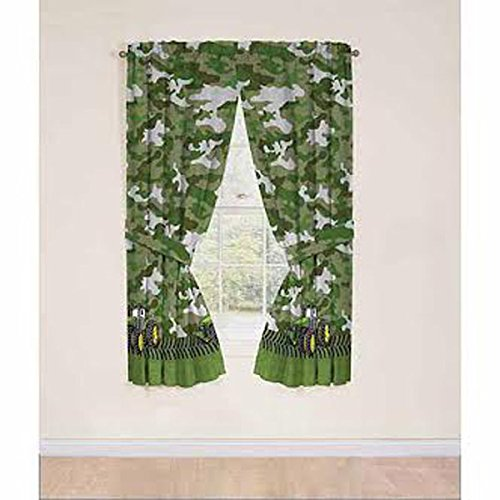 Deere John Collection (John Deere Green Tractor Window Panels / Curtains / Drapes - Set of 2 (42