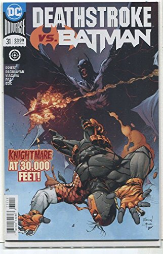 Deathstroke Vs Batman #31 NM Nightmare at 30,000 Feet DC Comics CBX27