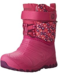 Merrell Unisex-Child Quest Lite WTPRF Waterproof Snow Boot (Toddler)
