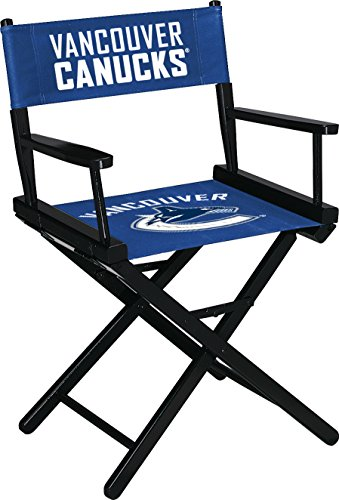 Imperial Officially Licensed NHL Merchandise: Directors Chair (Short, Table Height), Vancouver Canucks