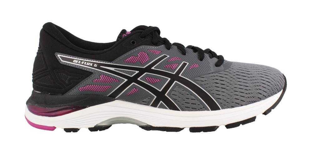 ASICS Gel-Flux 5 Women's Running B071F8BN4R 9 B(M) US|Carbon/Black/Fuchsia