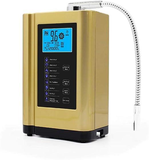 Water Ionizer Machine Home PH 3.5-10.5 Sistema de filtración de ...