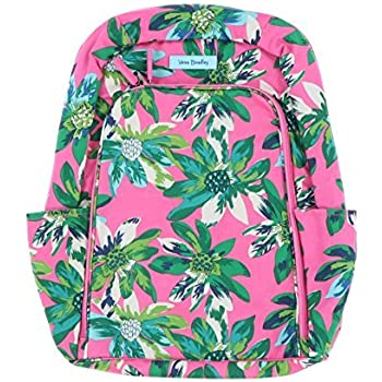 Amazon.com  Vera Bradley Laptop Backpack (Updated Version) with ... 8aa24298e0e18
