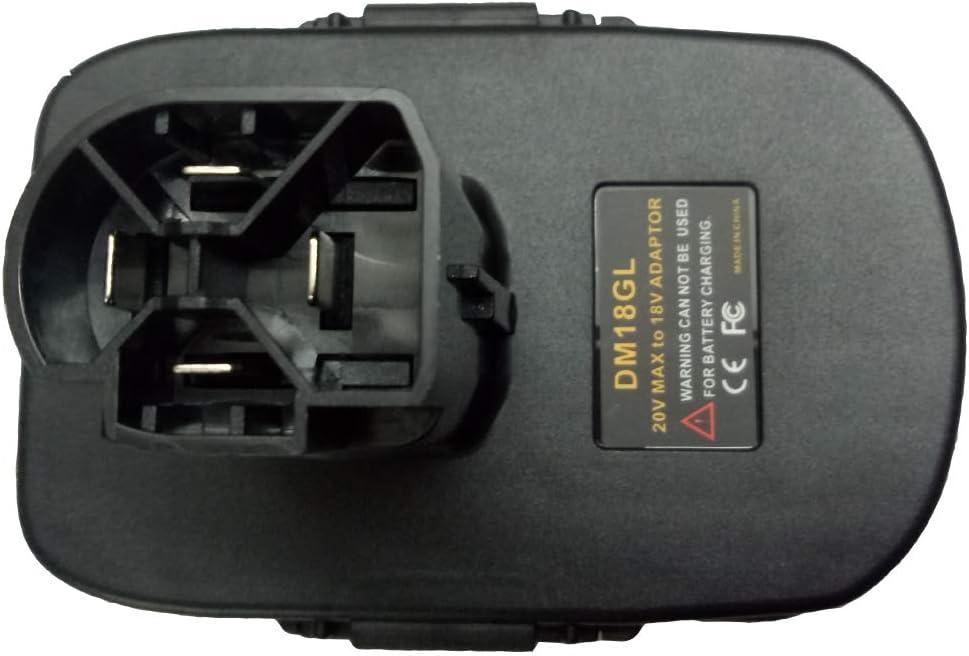 1x CRAFTSMAN V20 Platform Tools Adapter Work with Dewalt 20V MAX Li-Ion Battery