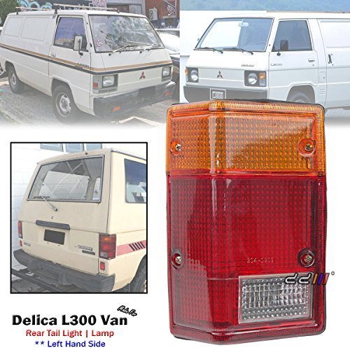 (Rear Left Hand Side Tail Light Lamp For Mitsubishi Delica L300 Van 1980-1986)