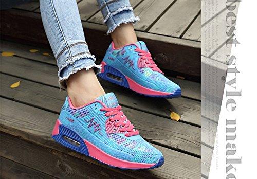 Air Sneaker Blue J Womens cushion Shoes Elais Running Zn7B1OO